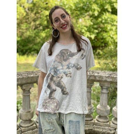 T-shirt Balancing Act in Moonlight Magnolia Pearl - 1