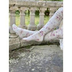 chaussettes Karolina in Raspberry Rose
