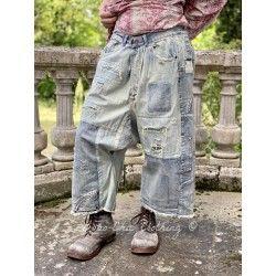 pants Beck in Washed Indigo