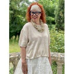 pullover FIONA beige woolen