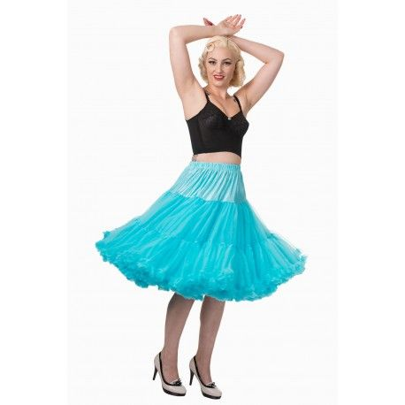 """petticoat Lifeforms 26"""" SBN236 Turquoise Banned Apparel - 1"""