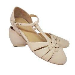 chaussures Montpellier Crème