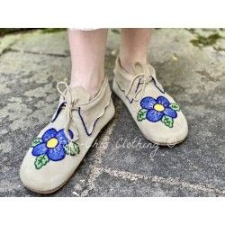 moccasins Morning Glory in Buckskin