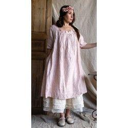 robe CECILE lin rose