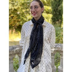 foulard Georgette Monet in Lulu