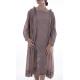 dress Romina in Lila Small Dot Magnolia Pearl - 8