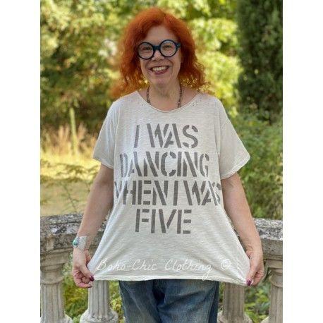 T-shirt Dancing When I Was Five in Moonlight