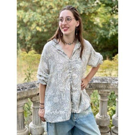 chemise Adison Workshirt in Lys