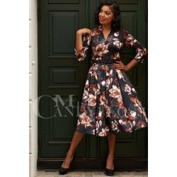 dress Amarina Umber