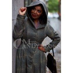 coat Lorily Black / Tan