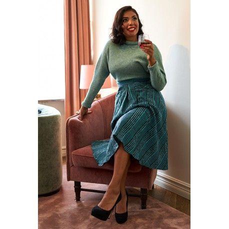 jupe Stepphie Turquoise