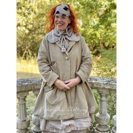 jacket SUZANNE khaki corduroy Les Ours - 1