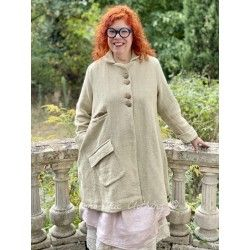 jacket SUZANNE rustic cotton