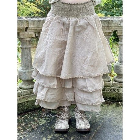 skirt / petticoat MADELEINE taupe organza Les Ours - 1