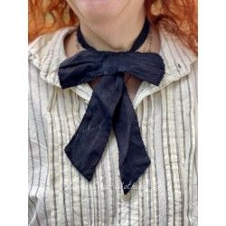 collier / jabot Louis Bowtie in Midnight