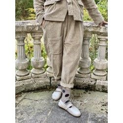 pantalon GASTON velours kaki