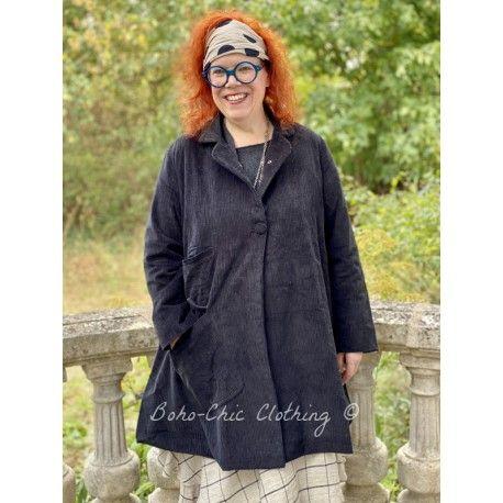 veste SUZANNE velours côtelé noir Les Ours - 1