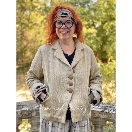 jacket ANNE rustic cotton Les Ours - 1