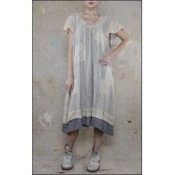 dress Annora in Victorian Rose and Chickory Check