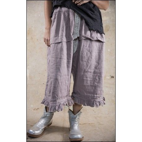 panty Bloomer with Pleats in Antique Lavender