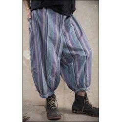 pantalon Jade in Fruit Stripe