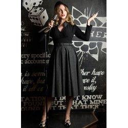 dress Stefanie Black/Grey