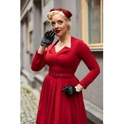dress Parinita Red