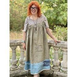 dress Tessie in Earthenware and Laguna