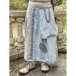jupe Hettie in Assorted Blues and Grays