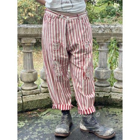 pants Miner Denims in Big Top Red
