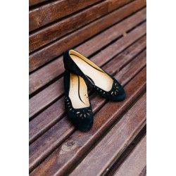 shoes Hallstatt Black Charlie Stone - 1