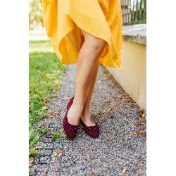 chaussures Hallstatt Bordeaux