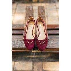 shoes Hallstatt Maroon