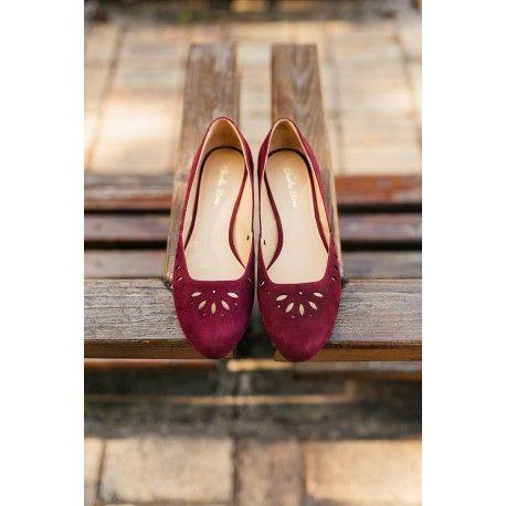 shoes Hallstatt Maroon Charlie Stone - 1