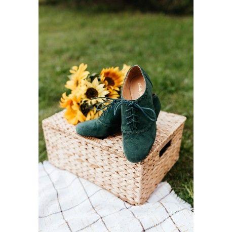 chaussures Salzburg Vert Charlie Stone - 1