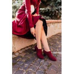 chaussures Vienna Bordeaux
