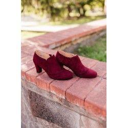 shoes Vienna Maroon Charlie Stone - 1
