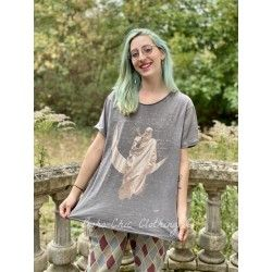 T-shirt Keeper of The Moon in Ozzy Magnolia Pearl - 1