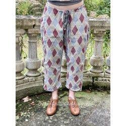 pantalon Pitre Suit in Claret