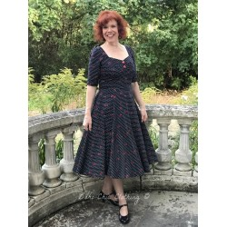 robe Dolores Cherry Polka Dot