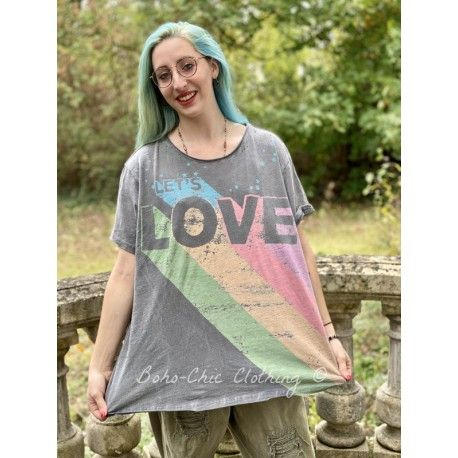 T-shirt Lets Love in Ozzy Magnolia Pearl - 1