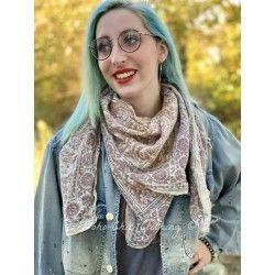 scarf Khandis Magnolia Pearl - 1