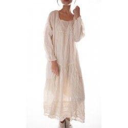 dress Ramie Helenia in True