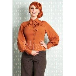 blouse Martane Brandy