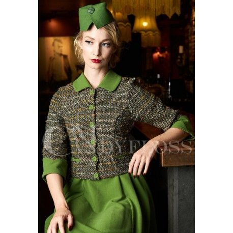 robe Liora Kelly Green