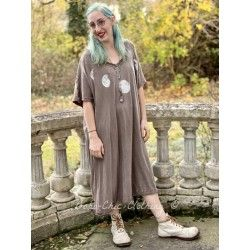 dress Moon Beau in Umber