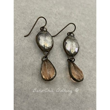 Boucles d'oreilles  in Blush DKM Jewelry - 1