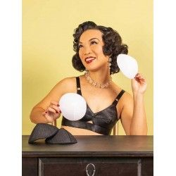 Bullet Bra Pads A1077 White What Katie Did - 1