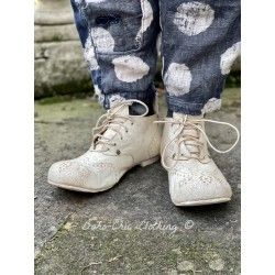 chaussures Leon Ray Ankle in Chalk