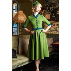 dress Miette Kelly green / Petrol